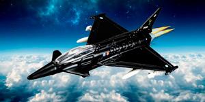 Истребитель Тайфун.  Открываем игрушки для мальчиков.